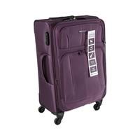 Travel House Soft Luggage 4 Wheels Size 24 Inch Purple