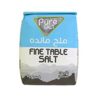 Teeba Gardens Pure Salt Fine Table Salt Iodized 1Kg