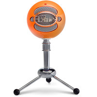 Blue Microphone Snowball Bright Orange