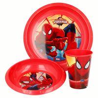 Spiderman Red Web Easy 3Pcs Set