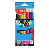 Maped Coloring Pencils Cardboard 12Pc