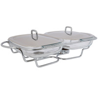 Food Warmer With 2 X 1.5 Lts Pyrex Bowls