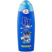 Fa Kids Shower Gel & Shampoo Wild Ocean Scent 250ml