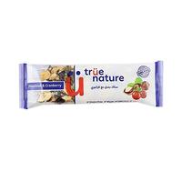 True Nature Hazelnut & Cranberry Bar 40GR
