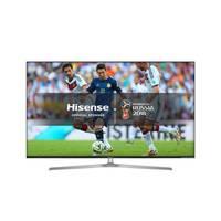 تلفزيون هايسنس سمارت بشاشة ألترا إتش دي بتقنية 4K حجم 55 إنش موديل 55U7A لون أسود