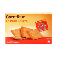Carrefour Petit Beurre Biscuits Pocket 300g