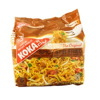 Koka Oriental Instant Noodles Spicy Stir- Fried Noodles 85gx5