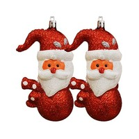 Carrefour Hanging Tree Snowman Assorted Set Of 2 13CM