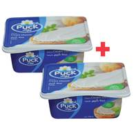 BUY 1 + 1 FREE Puck Cream Cheese 50% 300g
