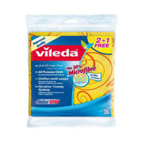 Vileda All Purpose Cloth 2+1 Pieces