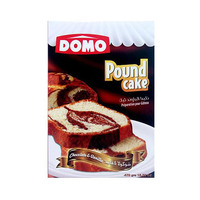 Domo Pound Cake Chocolate & Vanilla 470GR