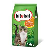 Kitekat™ Tuna Flavour Dry Cat Food Adult 1.4kg