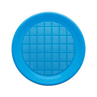 Bibo Disposable Plate Blue Big 30 Pieces