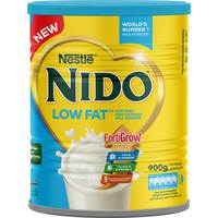 Nestlé Nido Low Fat Powdered Milk 900g Tin