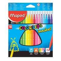 Maped 18 Color Peps Felttip Imagin