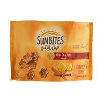 Sunbites Mini Crackers Cinnamon & Honey 40 g