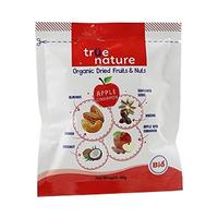 True Nature Organic Dried Apple & Nuts Mix 40GR