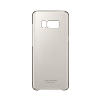 Samsung Galaxy S8 Clear Cover-Gold