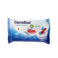 Carrefour Bathroom Wipes 40 Ply