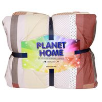 Planet Home Microfiber Comforter 150X220 Red