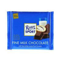 Ritter Sport Fine Milk Chocolate 100g