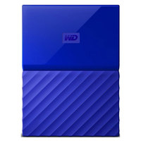 WD Hard Disk 2TB My Passport Blue Worldwide