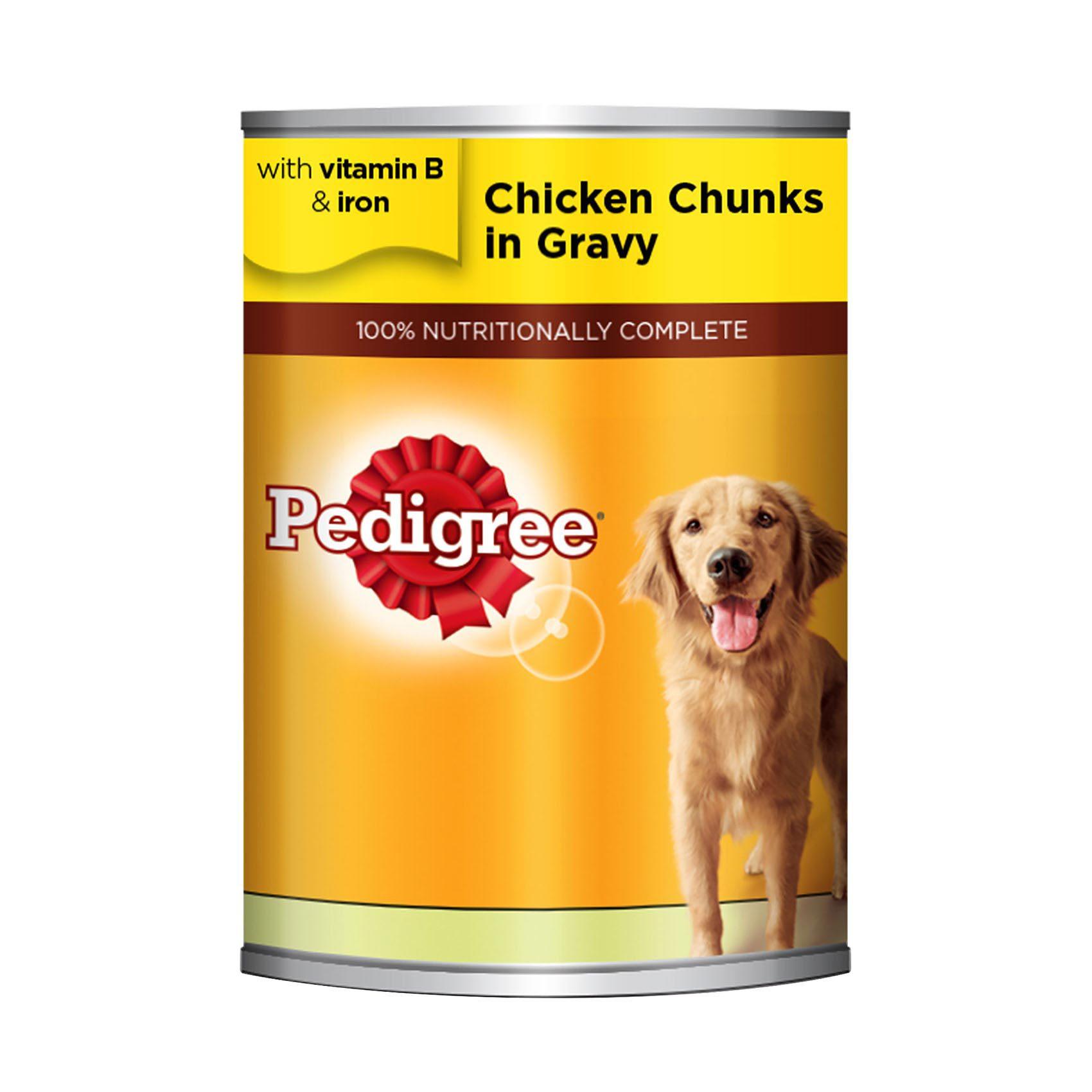 PEDIGREE CHICKEN CHUNKS IN SA 400GR
