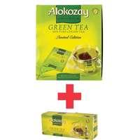 Alokozay Green Tea 100 Tea Bags + 25 Tea Bags