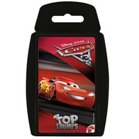 Top Trumps Card Game -Cars 3
