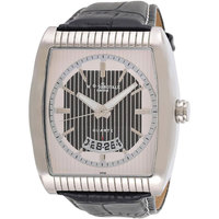 Mount Royale Men's Watch White Dial Leather Casual-4078