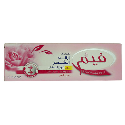 Fem-Sensitive-Skin-Hair-Removal-Cream-With-Lotion-120G