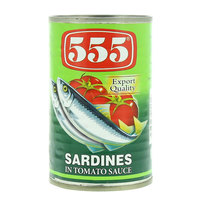 555 Sardines in Tomato Sauce 155g