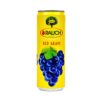 Rauch Red Grape Juice Can 355ML