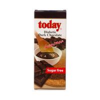 تودي شوكولاتة داكنة خالية من السكر 65 غرام