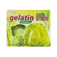 Safa Lime Gelatin Dessert 75g