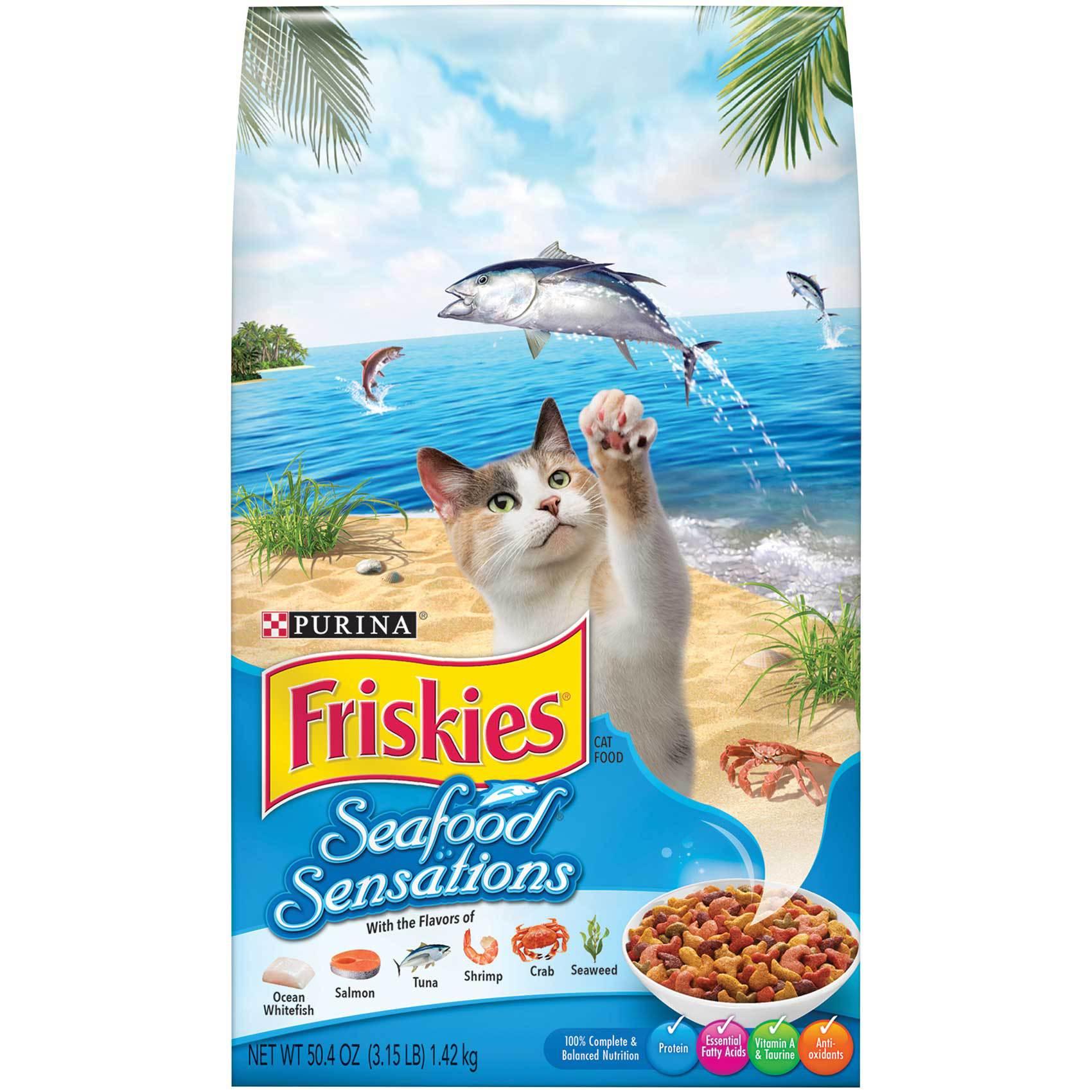 FRISKIES SEAFOOD 1.42KG