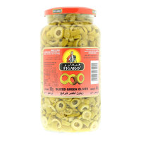 Figaro Sliced Green Olives 450g