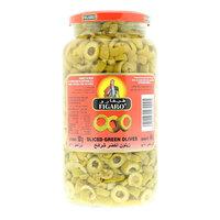 Figaro Sliced Green Olives 450g