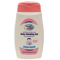 Cool & Cool Extra Mild Baby Washing Gel 250ml