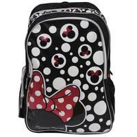 "Minnie Adult - Backpack 18"" Bk"