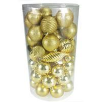 Balls Set 60Pcs/6cm Gold