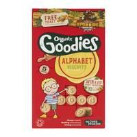 Organix Goodies Alphabet Biscuits 25gx5