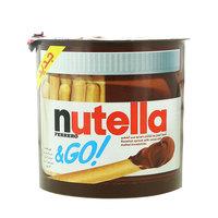 Nutella Ferrero & Go Hazelnut Spread with Cocoa and Breadsticks 52 g