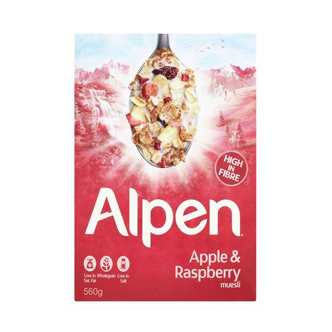 Alpen-Raspberry-&-Apple-560g