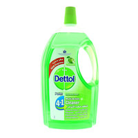 Dettol 4In1 Green Apple Disinfectant Multi Action Cleaner 3 Liter