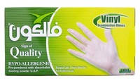 Falcon Venyl Gloves 100 Pieces Large