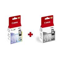 Canon Cartridge PG 510 Black & CL511 Color
