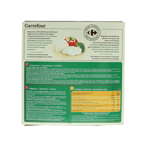 Carrefour-Quiche-Goat-Cheese-&-Vegetable-400g