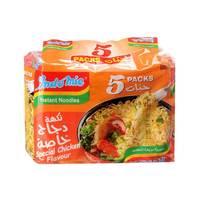 اندومي نكهة الدجاج الخاصة 75 جرام × 5