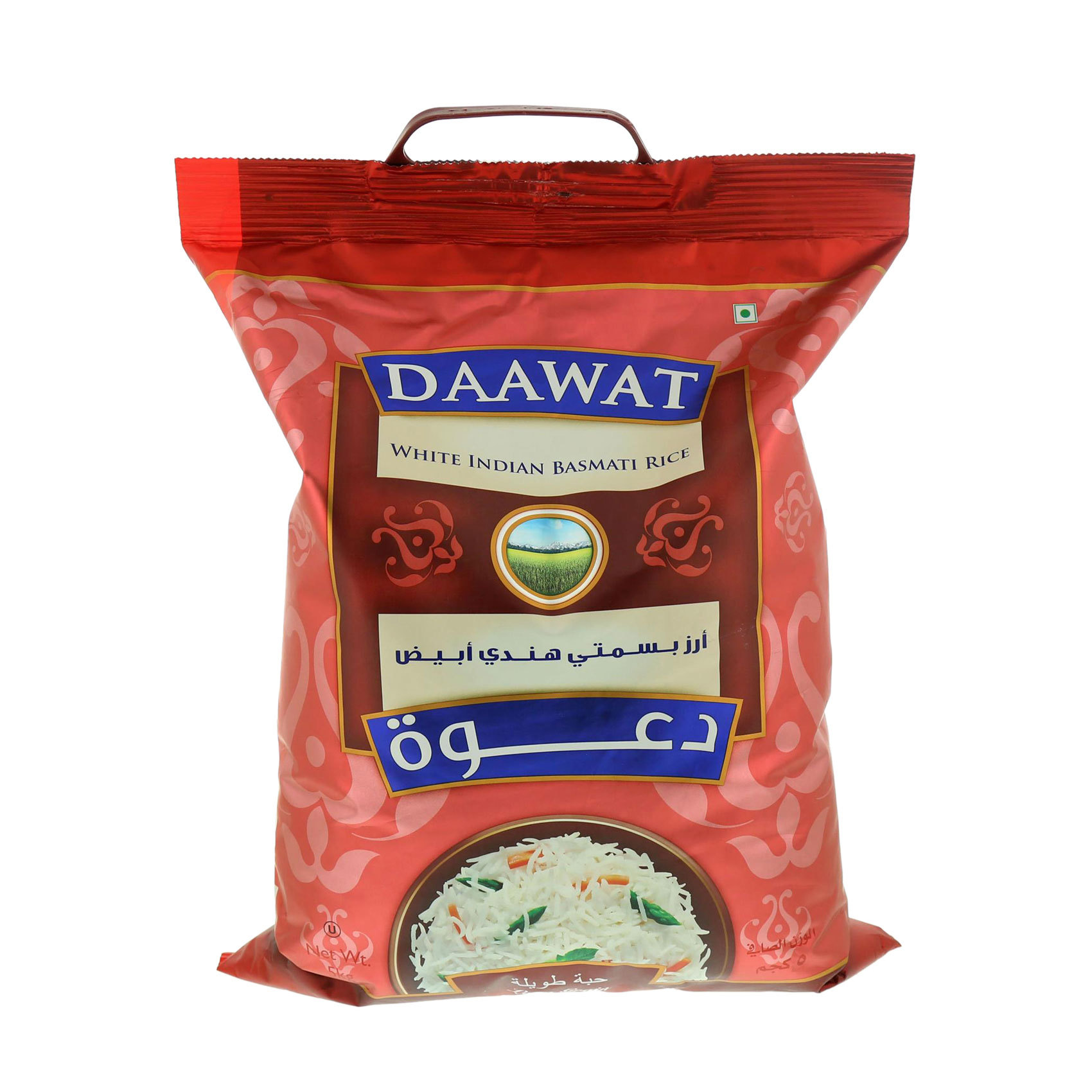 DAAWAT BASMATI RICE WHITE INDIAN 5K